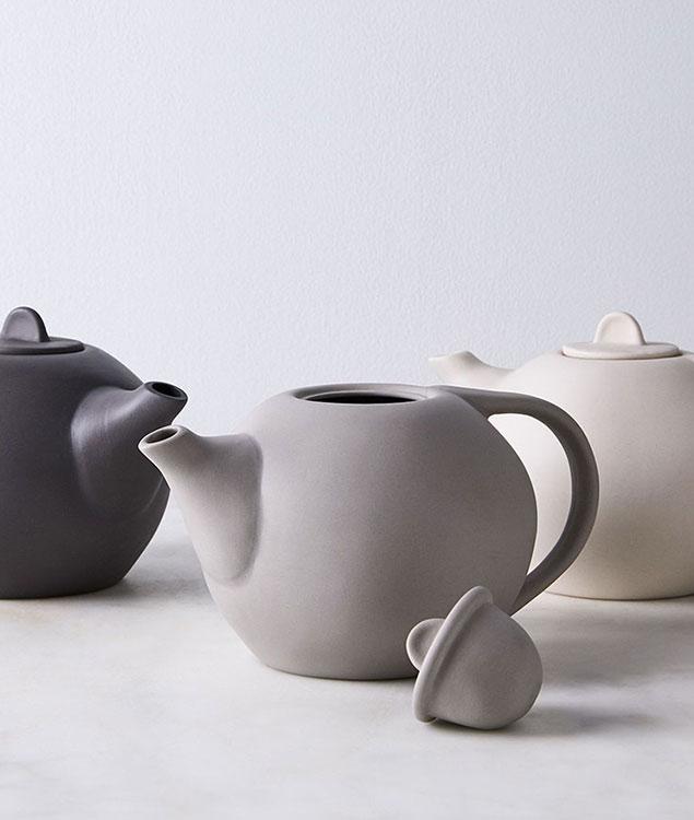 Silk Teapot Teacup Set